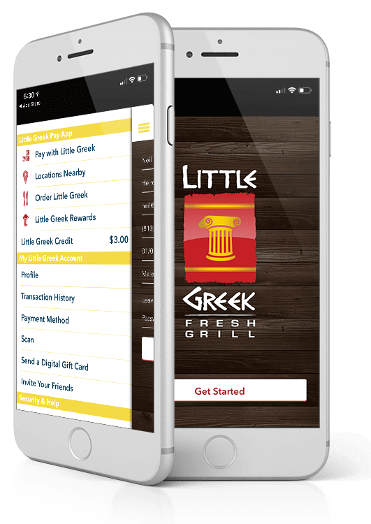 little greek fresh grill mobile app